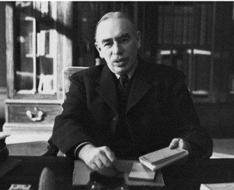 The right doesn't John Maynard Keynes' principles after all.