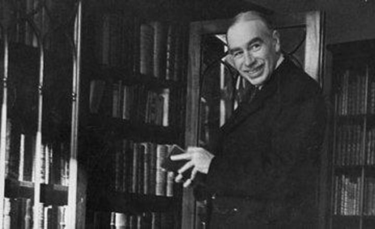 John Maynard Keynes suddenly finds fans in the Republican establishment.