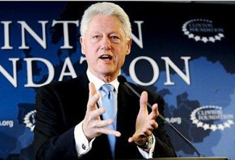 Bill Clinton as a GOP model