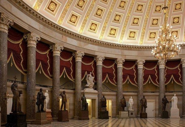 Congress lends Statuary Hall to religious right activists