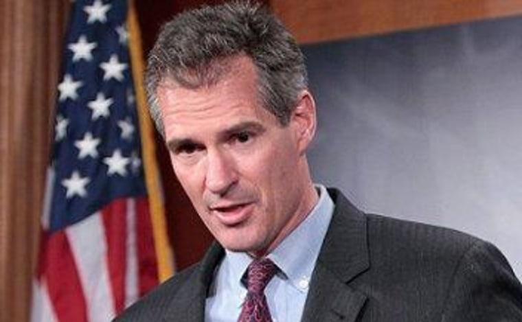 Scott Brown stumbles on 'Obamacare' problem