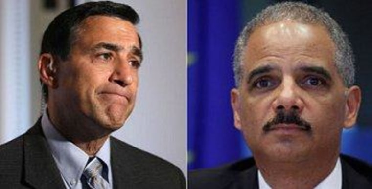 Issa targets Holder with contempt memo