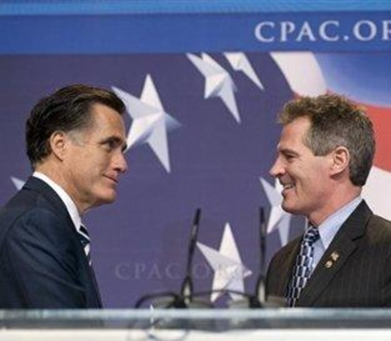 Scott Brown makes Romney's life more complicated