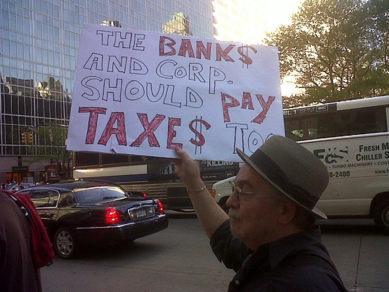 Outside our windows: Tax Day