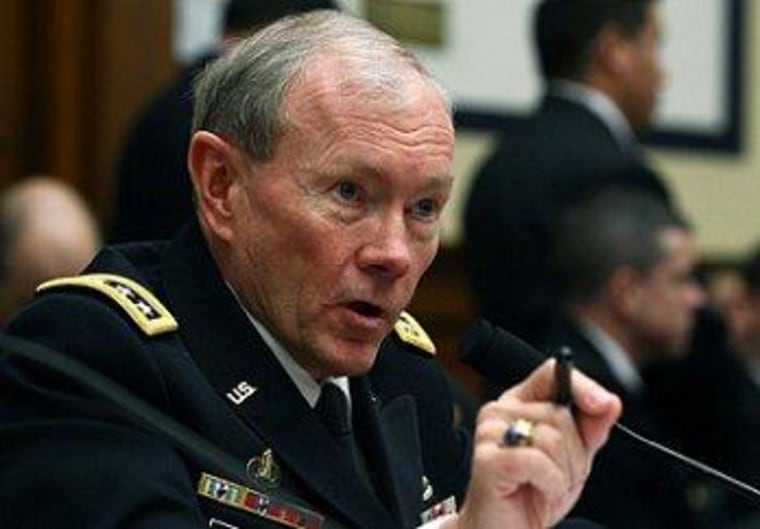 Chairman of the Joint Chiefs of Staff Gen. Martin Dempsey has had his disagreements with GOP lawmakers.