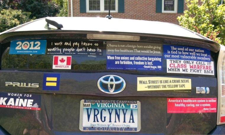 OMG: The VRGYNYA license plate