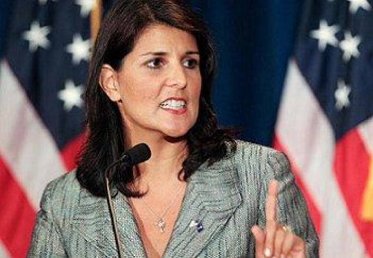 Haley accused of 'making stuff up' in book