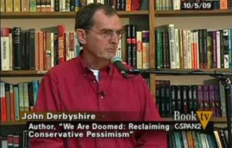 Conservative writer ousted after racist tirade