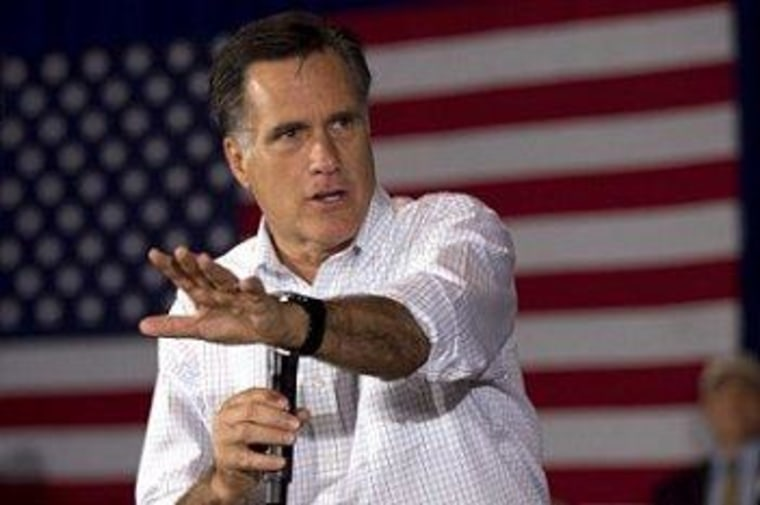 Mitt Romney often keeps the truth at arm's length.