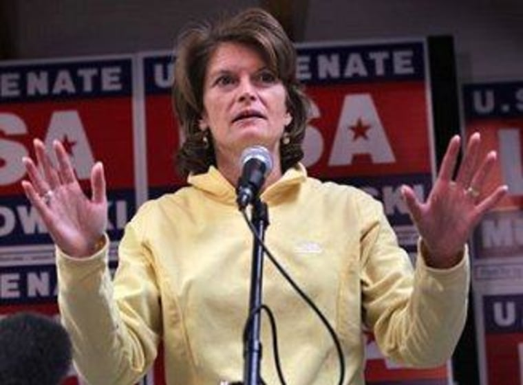 """Sen. Lisa Murkowski (R-AK) wants her party to stop its \""""attack on women.\"""""""
