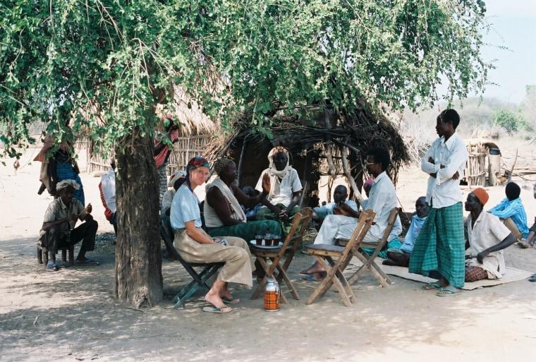 Maddow elder Muhumed Kheyr tells the history of Maddow village. January 16, 1988.