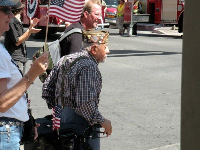 Welcome home, veterans! Love, Tucson