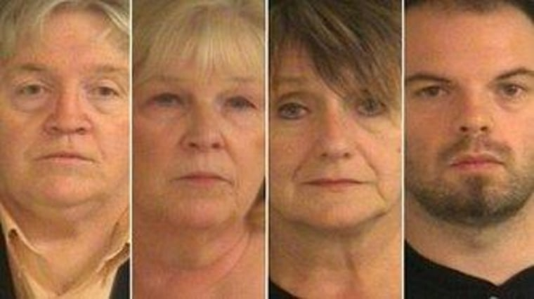 Mugshots of four Indiana Dems charged with fraud in a 2008 primary.