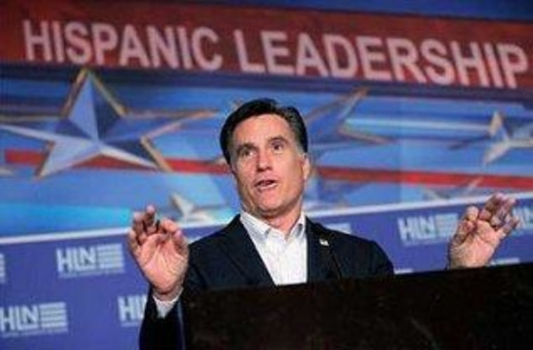 A swing and a miss from Romney on immigration