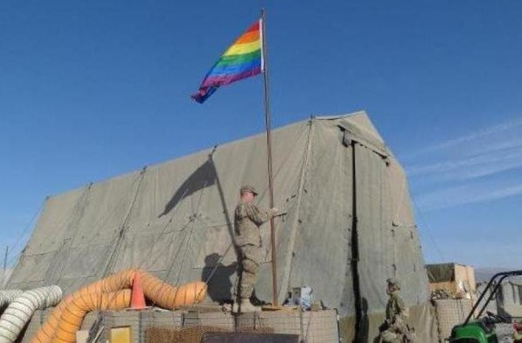 The importance of a pride flag in Afghanistan