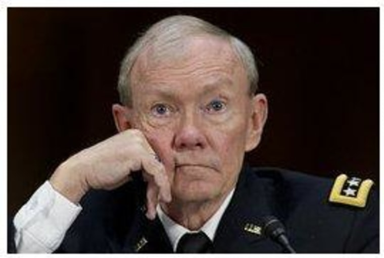 Gen. Dempsey doesn't seem impressed with Paul Ryan.