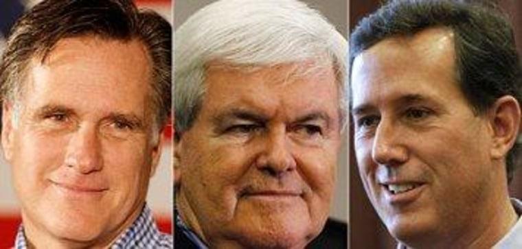 Santorum, Gingrich open to VP slot