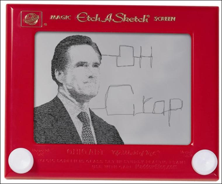 Romney's day