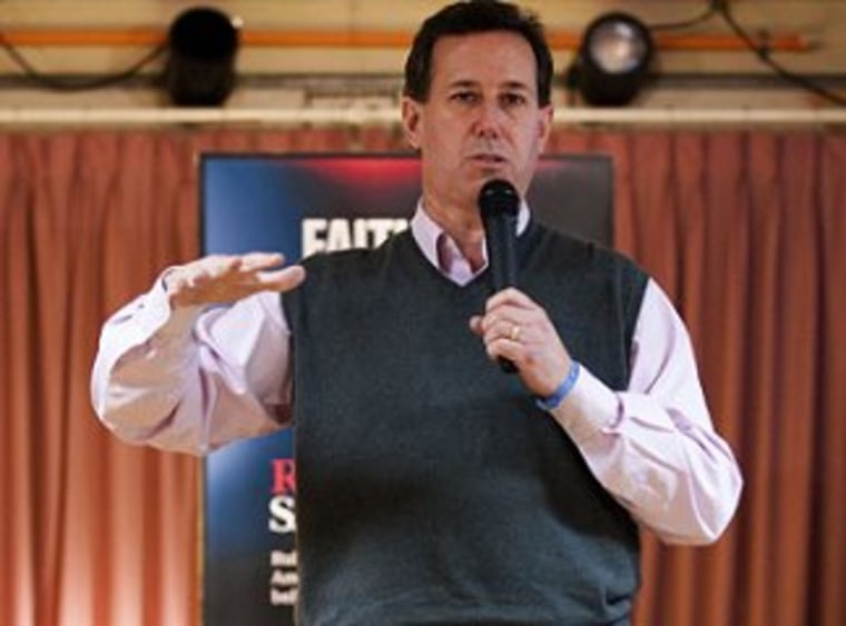 Santorum doubles down on porn