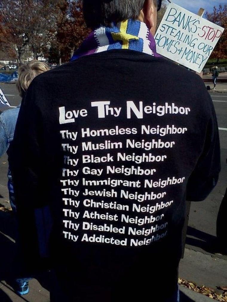 Seen in Pennsylvania: Love thy neighbor