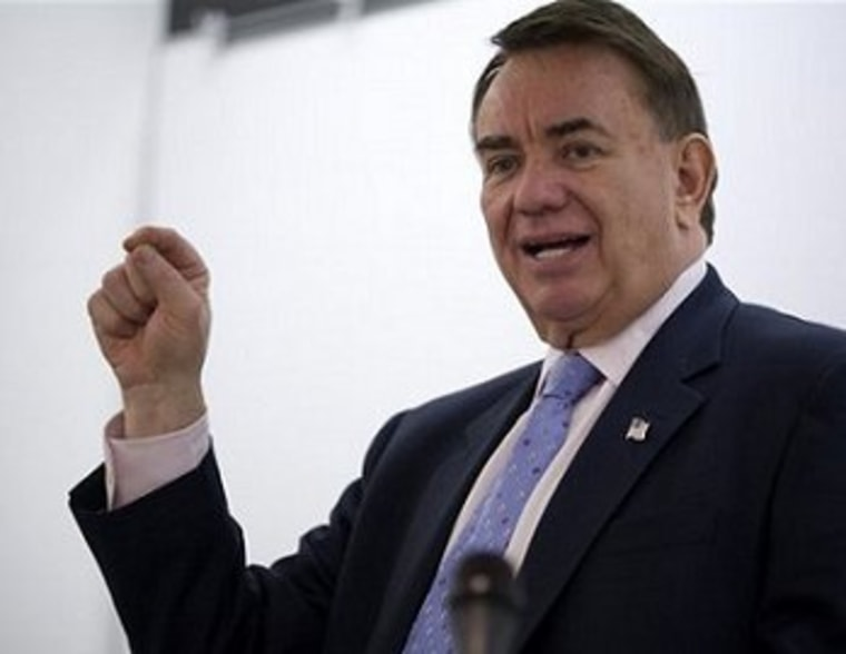 Tommy Thompson, professional politician.