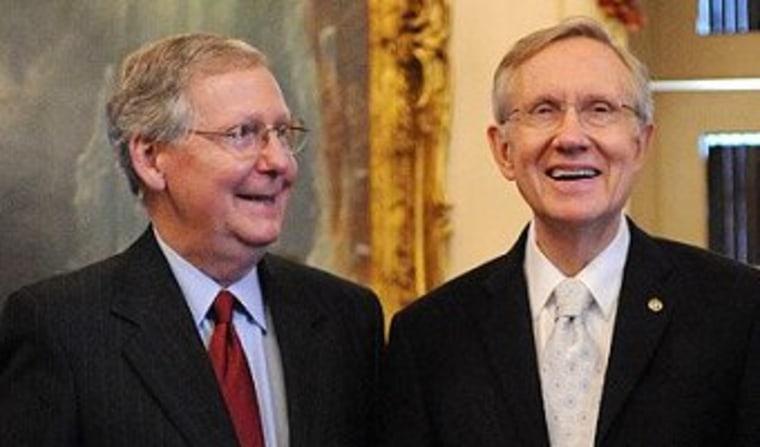 Reid's hardball pays off on judicial nominees