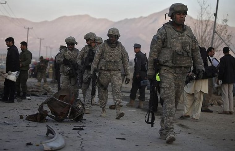 The GOP line on Afghanistan