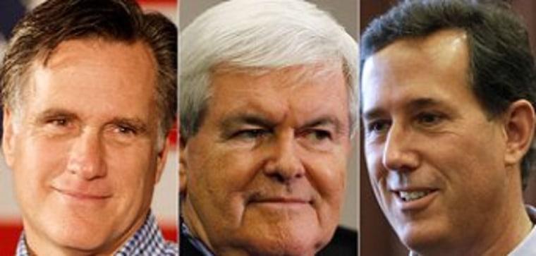 Santorum to Newt: Please go away