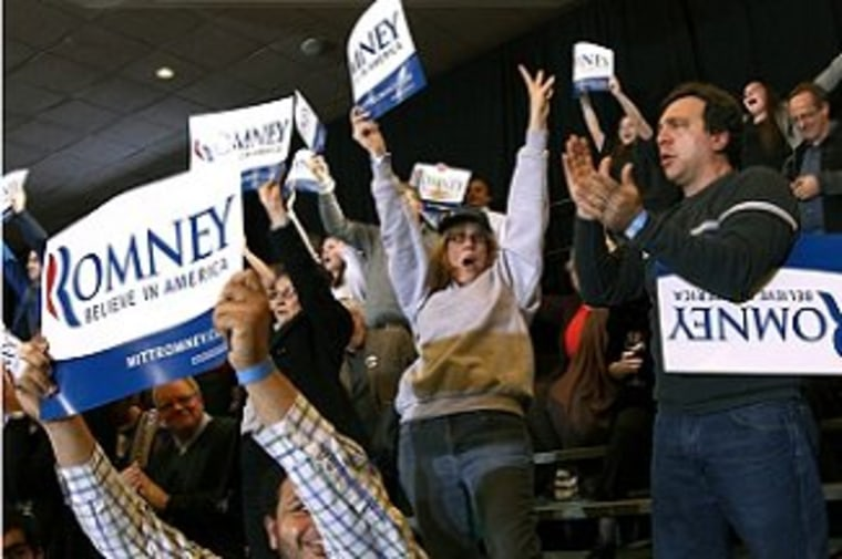 The Romney campaign manages to win and look weak at the same time.