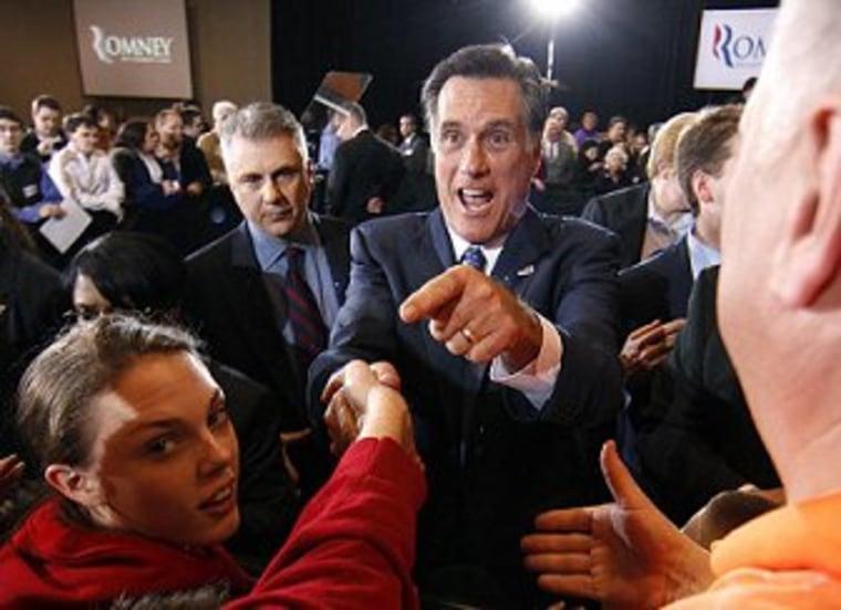 Romney survives, but race continues