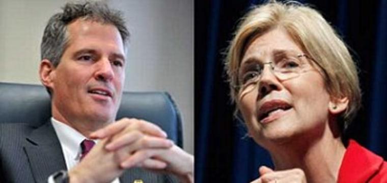 Scott Brown, Elizabeth Warren, and contraception