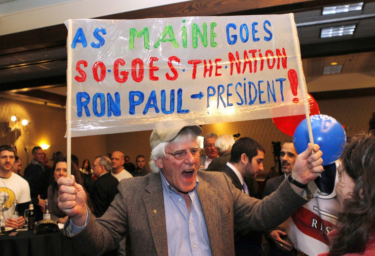 Still lacking a county's votes, Maine GOP sticks with Romney as winner