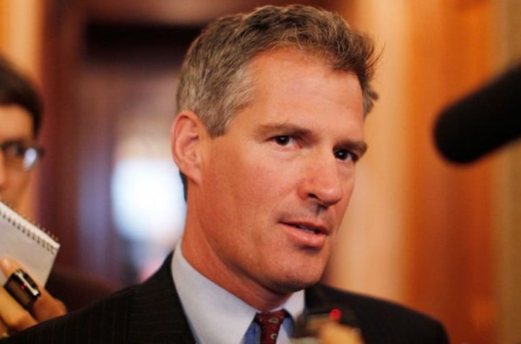 Scott Brown takes both sides of the contraception issue.