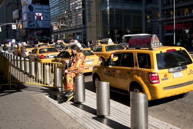 New York City street faerie