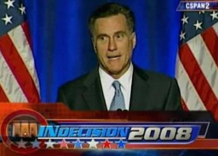 Romney's CPAC '08 message