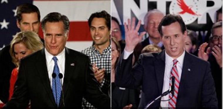 Santorum's day in the sun?