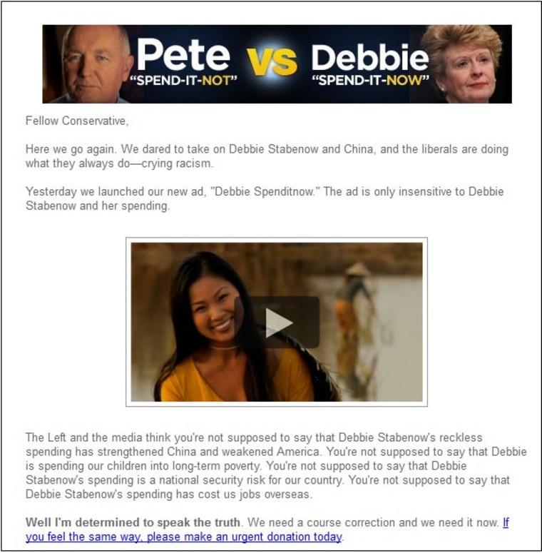 Pete Hoekstra raising money off Pete Hoekstra