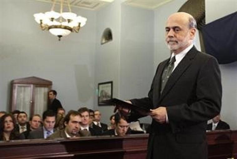 GOP to Bernanke: leave the economy alone