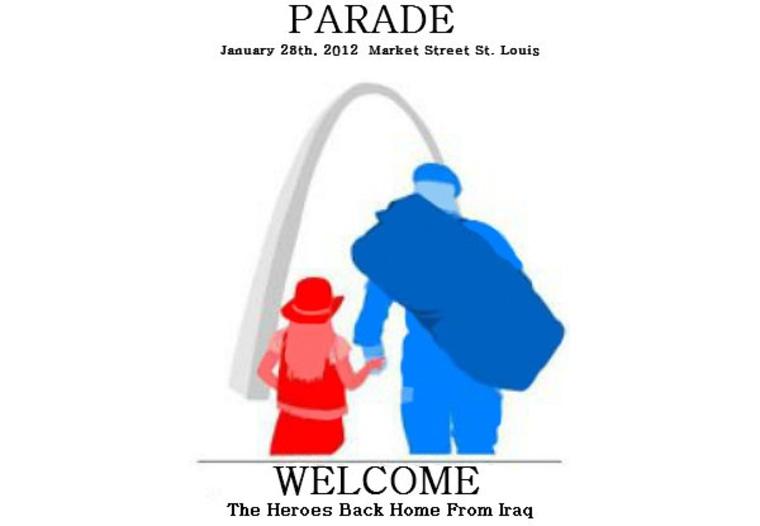 Parade for returning Iraq war vets