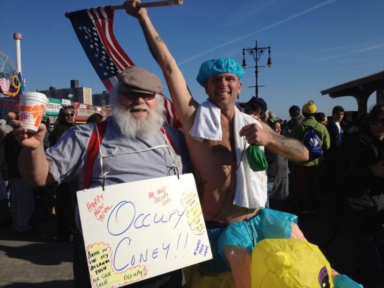 Occupy the Atlantic Ocean