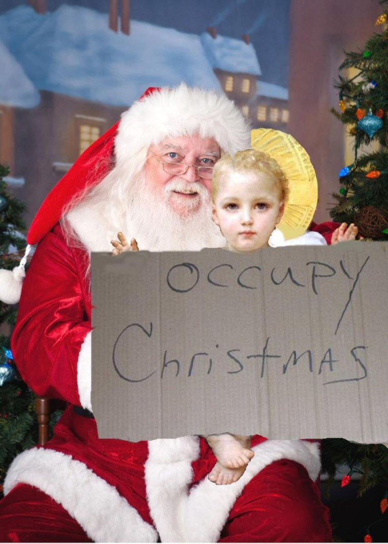 Occupy Christmas, with punchline