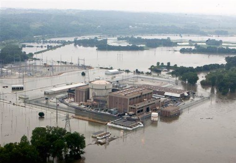 Fort Calhoun nuclear plant on June 16, 2011.