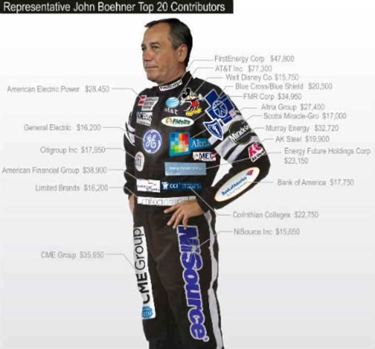 John Boehner, brought to you by...