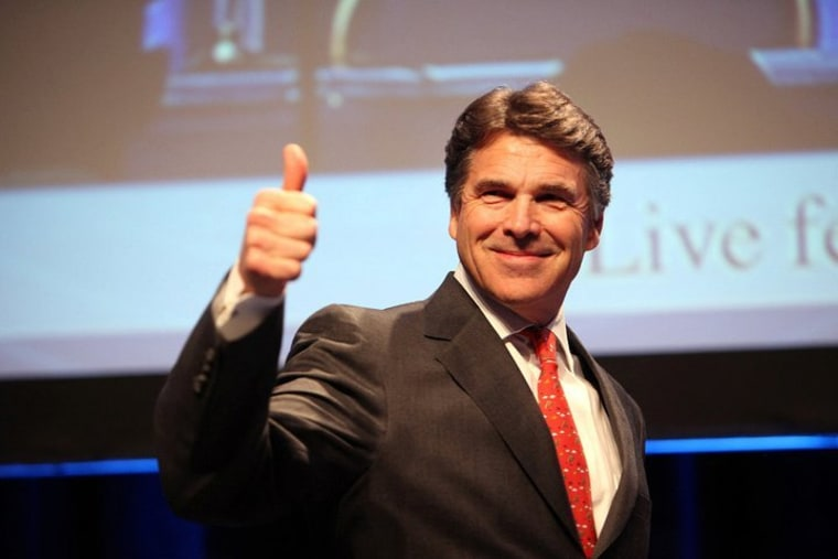 Why go birther? Rick Perry: 'It's fun'