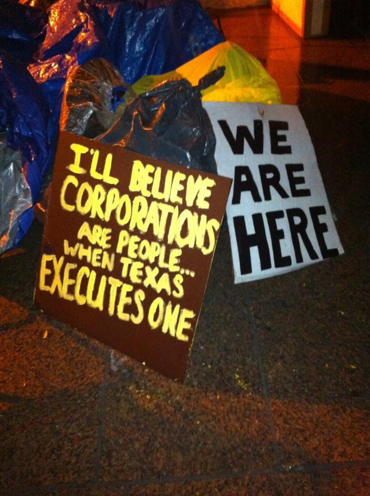 Occupy Wall Street still occupying Wall Street