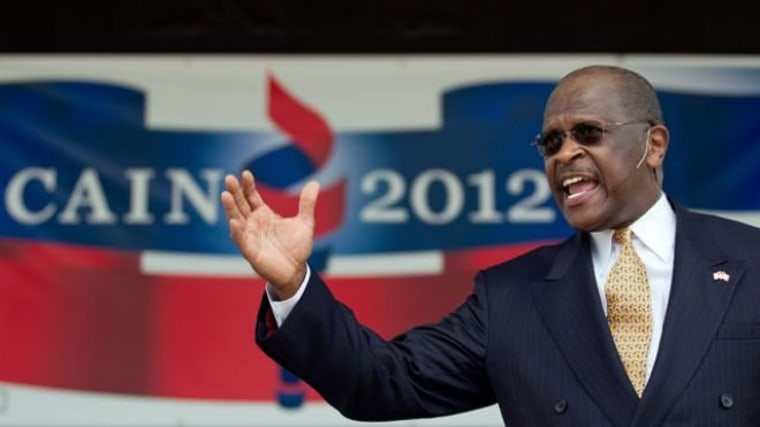 This is working for Herman Cain