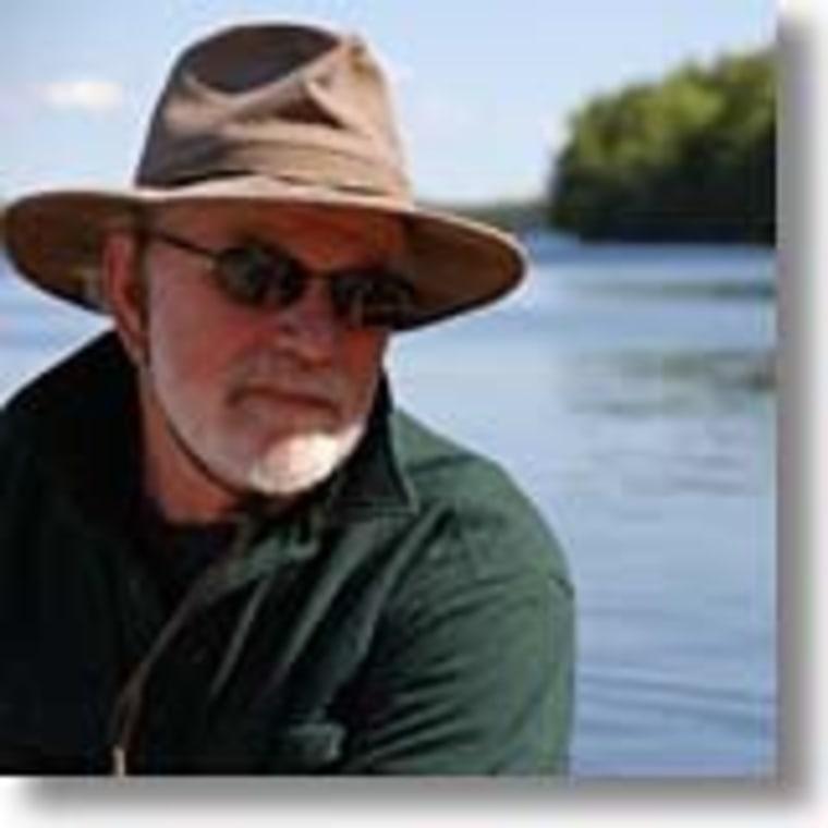 Maine guide Randy Spencer.