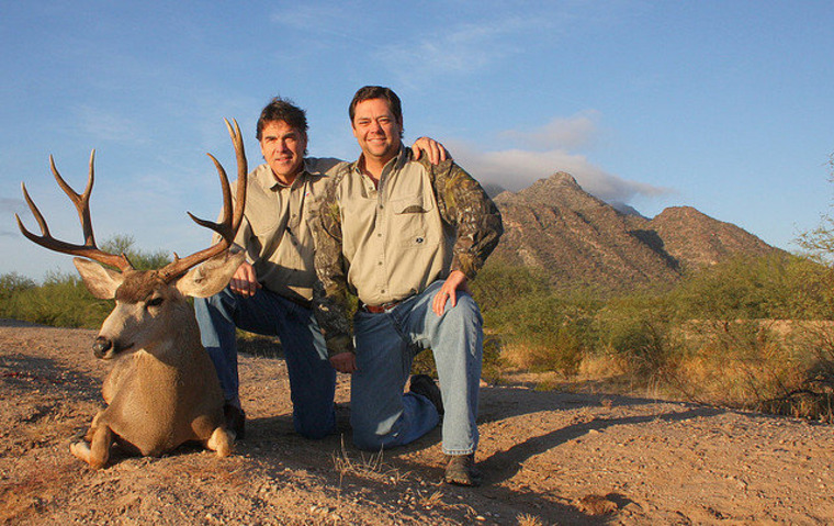 From a gallery of Governor Perry's hunting trips