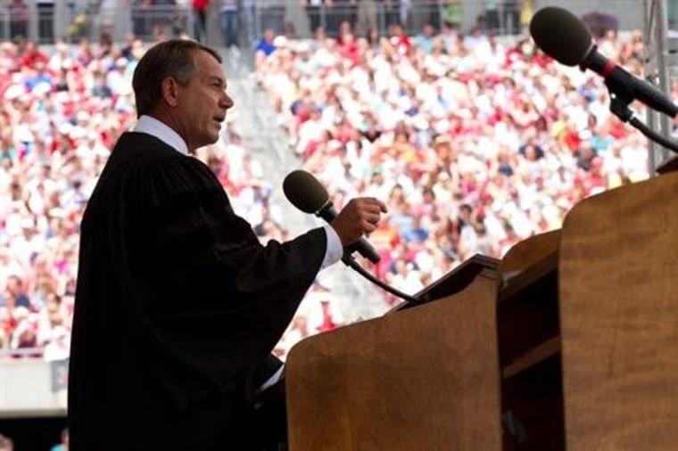 Theory A: John Boehner is bad at his job