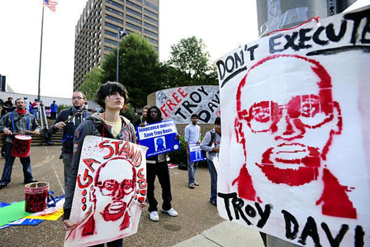 Georgia plans to kill Troy Davis tomorrow